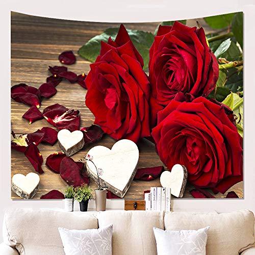 Blumen 3d wandteppiche,Hausdruck Wandtuch Hängende Tuch Aufhängen Farbe Wand Dekorative Decke