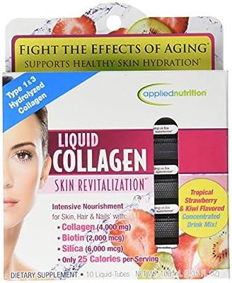 Liquid Collagen Skin Revitalization™ 4000 mg / 10 Tubes skin care by appliednutrition