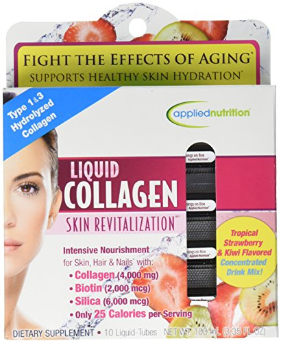 Collagen Skin Care (Liquid Collagen Skin RevitalizationTM 4000 mg / 10 Tubes skin care)