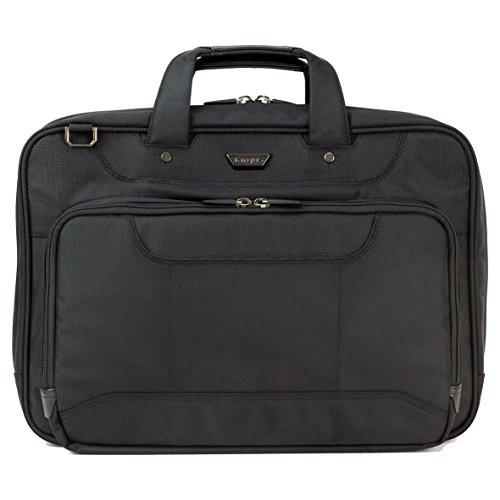 TARGUS Corporate Traveller 39,6cm 15,6Zoll High Capacity Laptop Topload Black (Leather Notebook Targus Case)