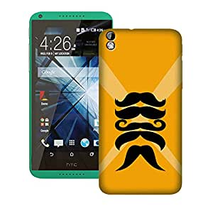 Zapcase Printed Back Case For Htc 816