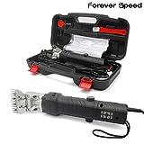 Forever Speed Schaf Schermaschine Elektrische Schafschere Schermaschine für Schafe 350W