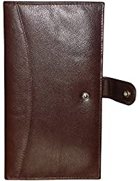 Style98 100% Genuine Leather Travel Passport Wallet||Wallet||Passport Holder||Passport Case||Buisness Card Holder||Credit/Debit Card Holder||Clutch||Long Wallet||Document Holder||Mobile Case||Mobile Pouch