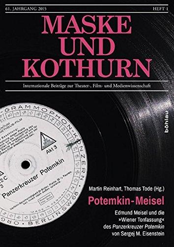 Theater Masken Geschichte - Potemkin - Meisel: Edmund Meisel und