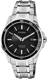 Citizen Eco-Drive Analog Black Dial Men's Watch BM6921-58E