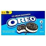 Oreo Ice Cream Sandwich, 6x55ml (Frozen)