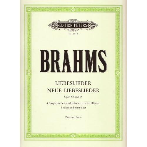 Liebeslieder Opus 52 - Neue liebeslieder Opus 65