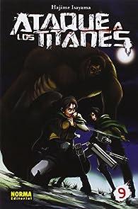 Ataque a los titanes 9 par  Hajime Isayama