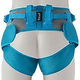 XYLUCKY Cuidado de la Salud AB-11 Multi-Mover Plus Transferencia Cinturones de Cambio Azul, Ancianos y Paciente bañan Cinturón de Ayuda - 110 × 85cm