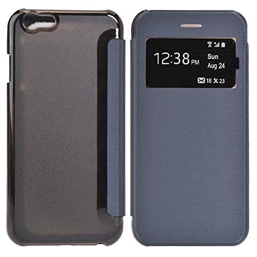 Case Cover Causal design PU PC de Flip pour iPhone 6 4.7Inch vert