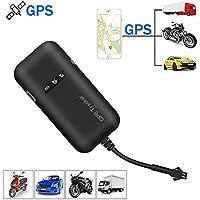 KOBWA véhicule GPS Tracker, Temps réel GPS/GSM/GPRS/SMS Global Locator Appareil de Suivi Antivol Moto/Voiture/vélo/Camion/Van/Automobile