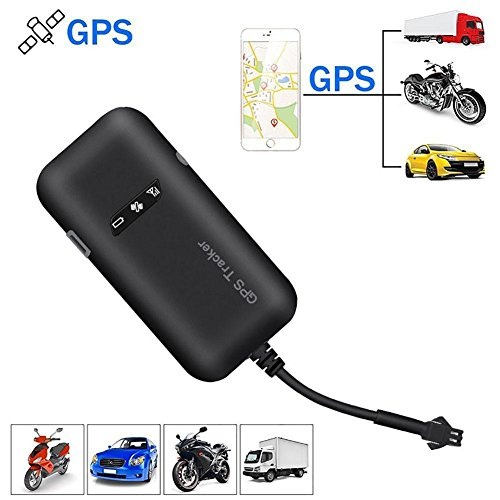 KOBWA Vehicle GPS Tracker, Real Time GPS/gsm/GPRS/SMS Global Locator Antirrobo Tracking Dispositivo para Motocicleta/Car/Bicicleta/Camión/Van/Automóvil