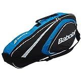 Babolat X3Club Line Sac pour raquettes de tennis Bleu Bleu 74 x 14 x 33 cm, 22 Liter