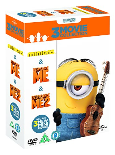 Image of Minions Collection (Despicable Me/Despicable Me 2/Minions) [DVD]