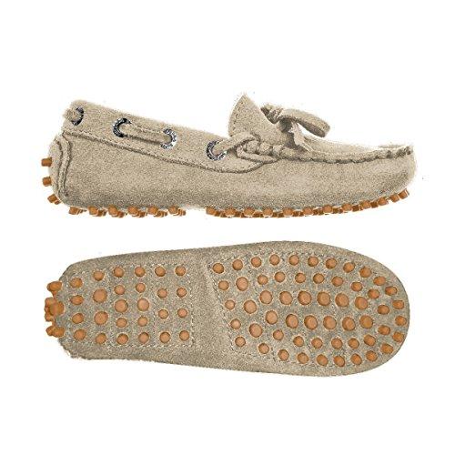 Superga 487-SUEJ S003380, Chaussures basses garçon Taupe