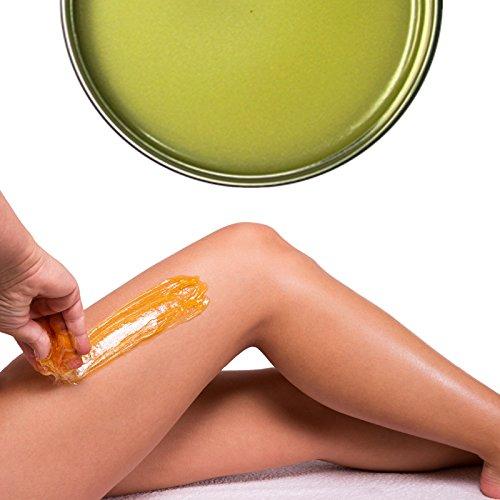 Haarentfernung Gelb Brasilianische in Topf 400 ml Black Wax Enthaarung - Kickkick
