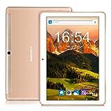 10 pollici Tablet BEISTA- (4G LTE,Wifi,Android 7.0, Quad Core,Capacità 32GB, RAM 2 GB,3G Dual Sim ,Wlan / Wifi,GPS,OTG) -Oro