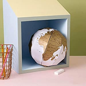 3D Mapa del Mundo globo Scratch Globe World Map Travel Home Decor Globetrotter – Luckies of London