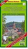 Radwander- und Wanderkarte Naturpark Märkische Schweiz, Buckow, Waldsieversdorf und Umgebung: Ausflüge zwischen Strausberg, Neuhardenberg, Wriezen, ... und Müncheberg. 1:50000 (Schöne Heimat)