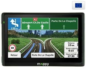 MAPPY Maxi E618 Europe - Carte à vie - GPS + Carbon XL - Etui