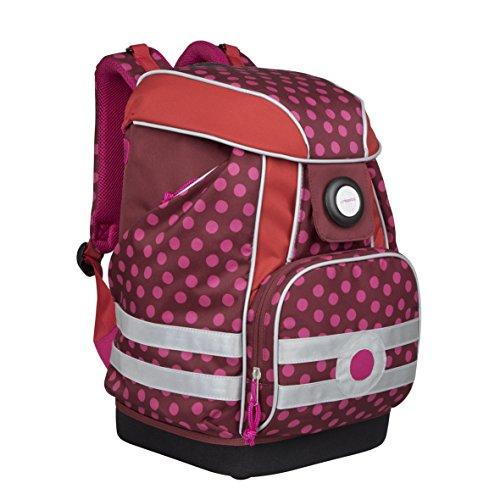 Lässig Gmbh 4Kids Schoolbag Dottie Red Cartable, 40...