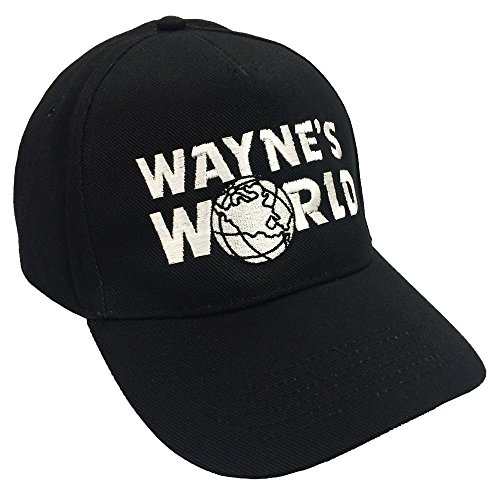 World Wayne's Kostüm Garth - Wayne World Hut Waynes World bestickte Baseball Cap