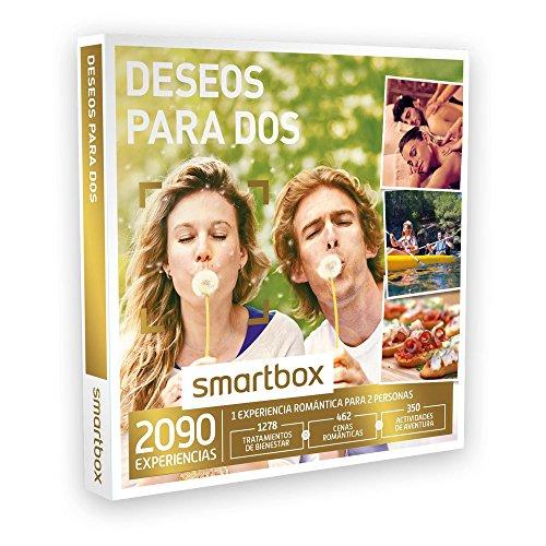 SMARTBOX - Caja Regalo - DESEOS PARA DOS - 2090 experiencias como masajes, cenas, spas, kayak, paintball, ruta a caballo…