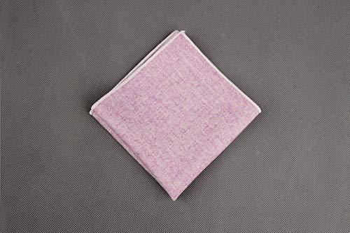 SKYyao Einstecktuch Mens Volltonfarbe Tasche Handtuch Anzug Schal Bräutigam am besten Mann Kostüm Zubehör Wolle 23 cm * 23 cm
