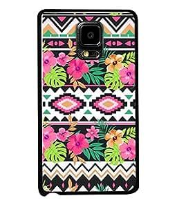 PrintVisa Designer Back Case Cover for Samsung Galaxy Note Edge :: Samsung Galaxy Note Edge N915Fy N915A N915T N915K/N915L/N915S N915G N915D (Abstract Illustration Colorful Decorative Vector Leaf Season)