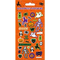 Paper Projects 01.70.04.048 Halloween Stickers, Orange