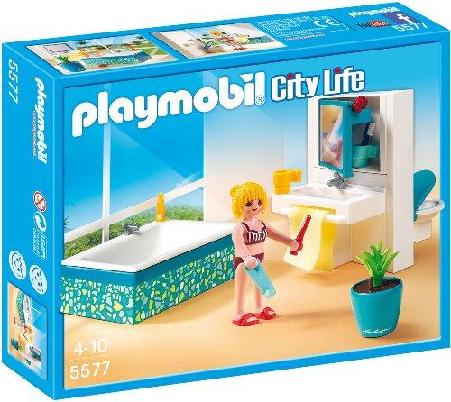 Preisvergleich Produktbild PLAYMOBIL 5577 - Modernes Badezimmer