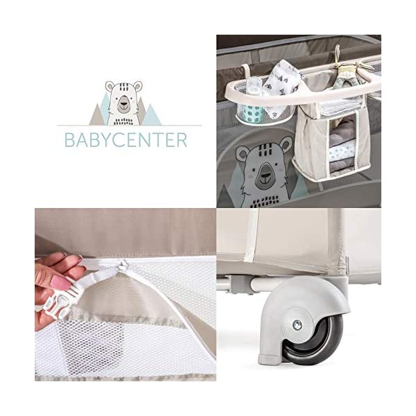 Lettino da Campeggio Hauck Babycenter Friend Hauck Brand: Hauck. Folds very easily and very quickly Travel bed with changing table, ideal for changing babies 4