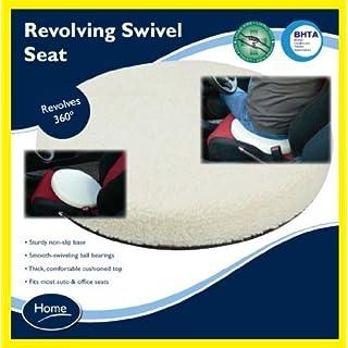 Car Revolving Non Slip Base Swivel Seat Auto Office Revolving Swivel Seat New by Active Living