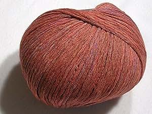 Cléopâtre–100% meliertes fil en coton de schu Lana dans grille (7)
