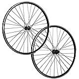 Taylor Wheels 28 pollici set ruote bici ZAC19 Shimano Tourney TX500 622-19 nero