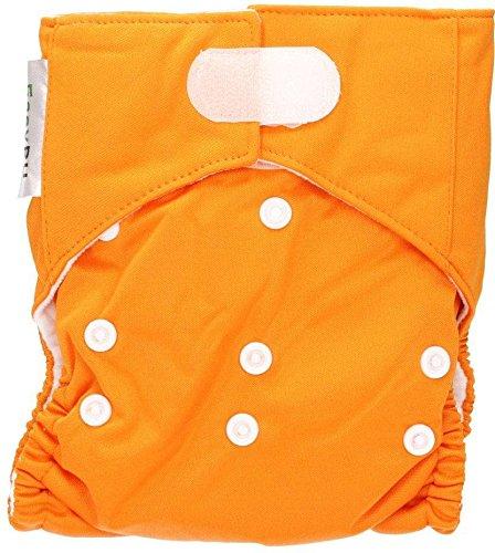 EASYPU Waschbare Windeln Orange Super vielseitig und saugfähig Yumi Fashion