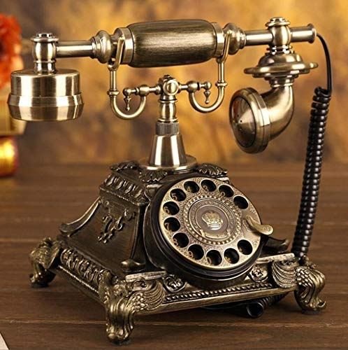 KISlink Kabelgebundene Telefone/Haus-Telefone/Haus-Telefon (Farbe: Zifferblatt) Rotary Dial Version