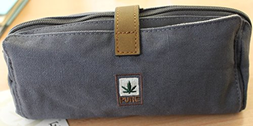 Trousse de toilette en chanvre hF040 chanvre pURE cannabis 5 coloris