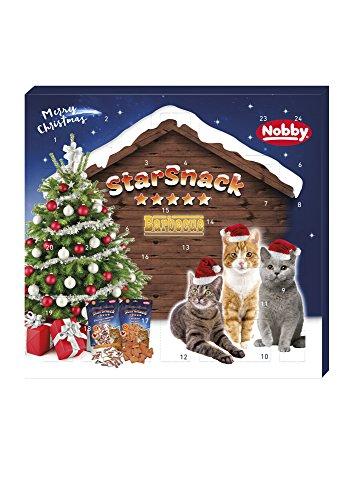 Nobby StarSnack Adventskalender Katze