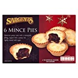 Sargents 6 Mince Pies