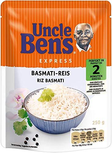 Uncle Ben\'s Express-Reis Basmati Reis, 6 Packungen (6 x 250g)