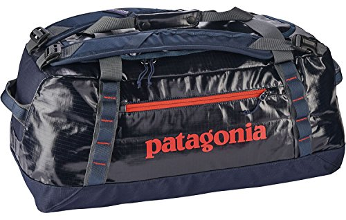 Patagonia Tasche Black Hole Duffel navy blue w/paintbrush red