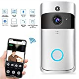 Teepao Video Doorbell, Wifi Wireles Network Video Doorbell 720p HD Security Smart Doorbell