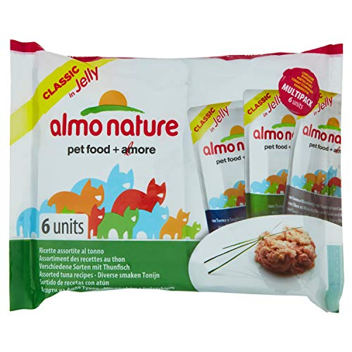 almo nature Hfc Jelly Tonno Umido Gatto - 6 Buste