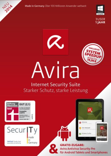 Avira Internet Security Suite 2014 - 3 User + Mobile - [PC]