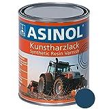 Laque résine RAL 5001 - Bleu Vert - 1000 ML - ASINOL