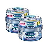 2x Dr. Beckmann Putzstein inklusive Reinigungsschwamm je 400gr / reinigt, poliert, konserviert in einem Arbeitsgang / Reiniger