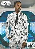Herren Star Wars Stormtrooper Oppo Anzug Kostüm Medium/Large (EU52 UK42)