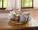 "6tlg. Deko Set ""Orient"" Teelichthalter, Kerzenständer & Vasen"