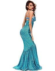 Rôles de taille haute costume de sirène de Miss sirène